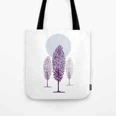 Cold Trees Tote Bag