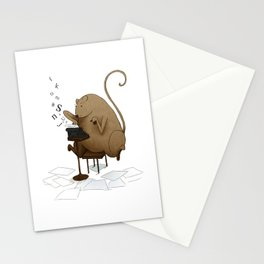 MOUSEY LETTERS Stationery Cards