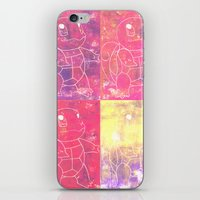 squirtle iPhone & iPod Skins featuring Squirtle Squad by pkarnold + The Cult Print Shop