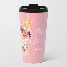 Blessed Assurance T Travel Mug