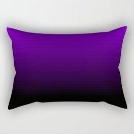 black and purple Rectangular Pillow