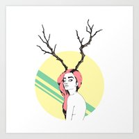 dazed and confused Art Prints featuring Dazed & Confused 2.0 by Emelia Taveras