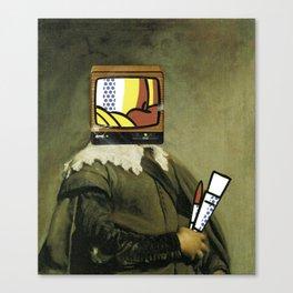 I saw Velazques paint Canvas Print