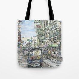 One day in Bangkok Tote Bag