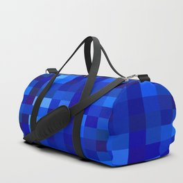Blue Mosaic Duffle Bag