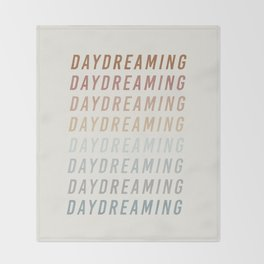 Daydreaming Throw Blanket