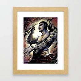 Inkmaster Framed Art Print