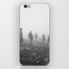 Foggy mountains iPhone & iPod Skin