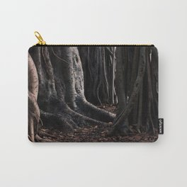 Spooky Winter Trees Carry-All Pouch