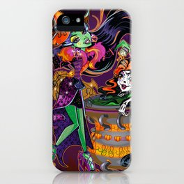 Halloween Trick or Treat iPhone Case