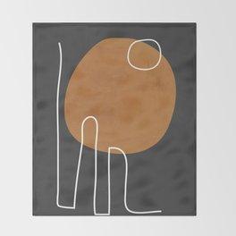 Abstract Art 40 Throw Blanket