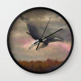 Magic in Gray Skies. Wall Clock