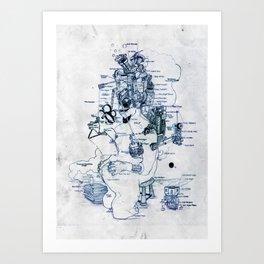 Zihni Art Print