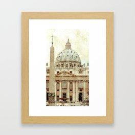 Rome Flea Market Framed Art Print
