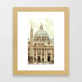 Rome Flea Market Framed Art Print