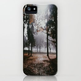 Darkness looms iPhone Case