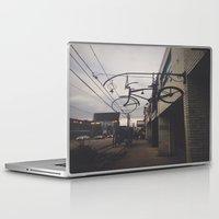 bicycles Laptop & iPad Skins featuring Bicycles by Wanderlust Fhotos