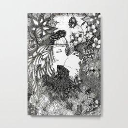Nature's kiss Metal Print