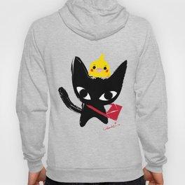 Yeux Du Chat Noir Hoody