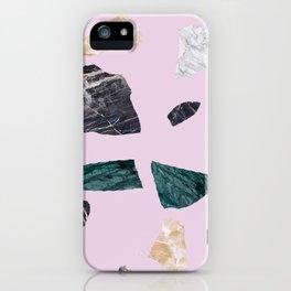 terrazzo grande iPhone Case