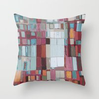 budapest Throw Pillows featuring Budapest by constanza briceno