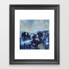 Indigo Sea Framed Art Print