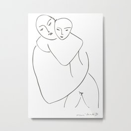 Matisse Virge Et Enfant (Virgin and Child) 1950 Artwork Metal Print