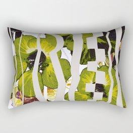 caged garden Rectangular Pillow