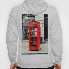 British Telephone Booth Hoody