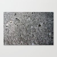 concrete Canvas Prints featuring concrete by Seed Margarita