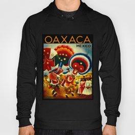Oaxaca Mexico Vintage Travel Hoody