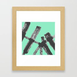 Bent Rails Framed Art Print