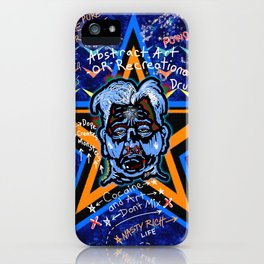 Abstract Drug Life iPhone Case