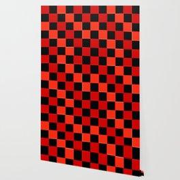 Red & Black Checkers : CheckerBoarD Wallpaper