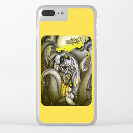 To bee or not to be Clear iPhone Case