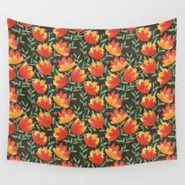 Afternoon Blossoms Wall Tapestry