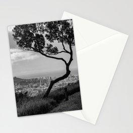 Honolulu Noir Stationery Cards