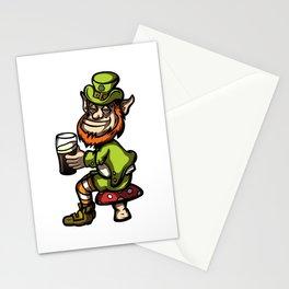 Drunken Leprechaun Stationery Cards