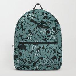 Vintage Blue Lillies Backpack