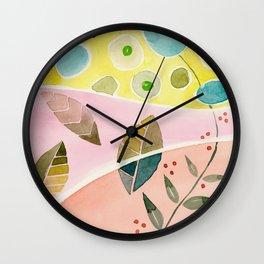 watercolor Wall Clock