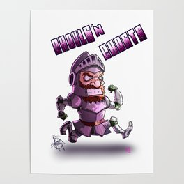 Super Ghosts n' Ghouls Arthur! Poster