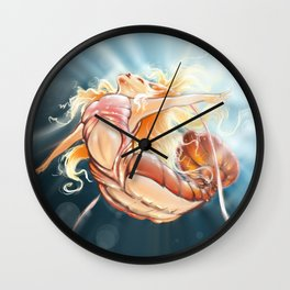 ShrimpMaid Wall Clock
