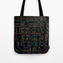 Diced 3D Tote Bag