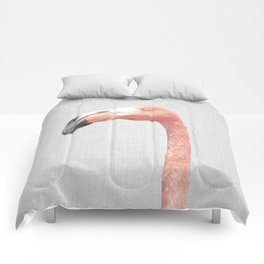 Flamingo - Colorful Comforters