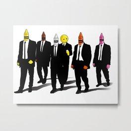 Reservoir Crayons Metal Print
