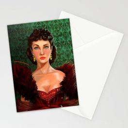 Scarlett Red Stationery Cards
