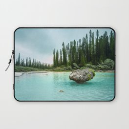 Remote Corner of Paradise at Isle of Pines, New Caledonia. Laptop Sleeve