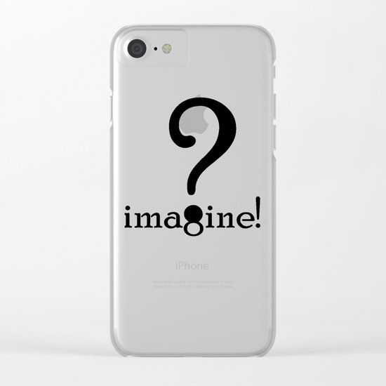 Imagine Clear iPhone Case