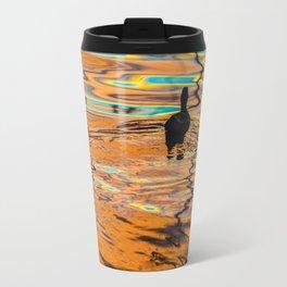 Duck and Orange Travel Mug