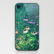 Flowers of the Field iPhone & iPod Skin